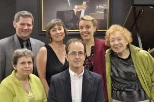 2012 String Poet Prize Ceremony - Barry Tognolini, Maxine Silverman, Kim Bridgford, J. D. Smith, Annabelle Moseley, Muriel Harris Weinstein