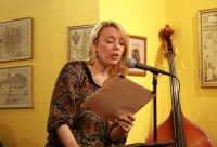 Annabelle Moseley, host of the String Poet Studio Series
