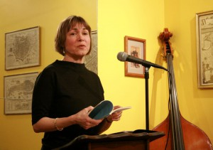 "Kim Bridgford reading from ""In The Extreme"" at the String Poet Studio Series"