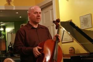 Pedro de Alcantara performs on a Charles Rufino cello