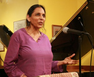 Pramila Venkateswaran reads her winning poem at the 2011 String Poet Prize Award Ceremony