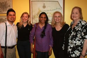 David Wong, Annabelle Moseley, Pramila Venkateswaran, Beth Anderson, Patricia Fargnoli