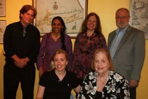 W.F. Lantry, Pramila Venkateswaran, Francine Sterle, George H. Northrup, Annabelle Moseley, Patricia Fargnoli