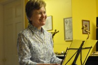 Barbara Novack reads at the String Poet Studio Series