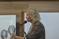 Cynthia Shor at the String Poet Women Writers of Tomorrow awards ceremony