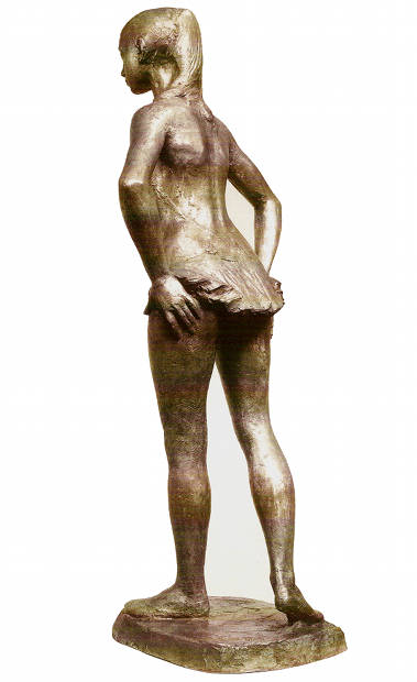 Young Dancer, 1992, bronze